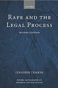 Cover of Rape and the Legal Process