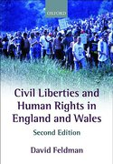 Cover of Civil Liberties and Human Rights in England and Wales