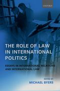 Cover of The Role of Law in International Politics: Essays in International Relations and International Law