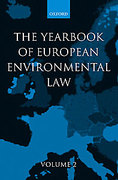 Cover of Yearbook of European Environmental Law: Vol 2
