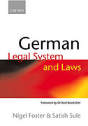 Cover of German Legal System and Laws