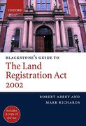 Cover of Blackstone's Guide to the Land Registration Act 2002