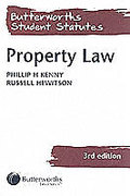 Cover of Butterworths Student Statutes: Property Law