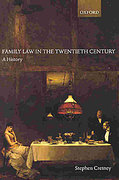 Cover of Family Law in the Twentieth Century