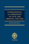 Cover of International Co-Operation in Civil and Criminal Matters