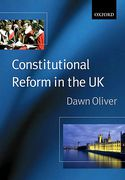 Cover of Constitutional Reform in the United Kingdom