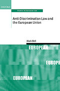 Cover of Anti-Discrimination Law and the European Union