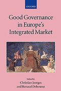 Cover of Good Governance in Europe's Integrated Market