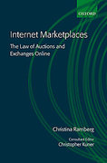 Cover of Internet Marketplaces: The Law of Auctions and Exchanges Online