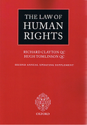 Cover of Law of Human Rights 1st ed with 2nd Supplement