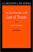 Cover of An Introduction to the Law of Trusts