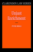 Cover of Unjust Enrichment