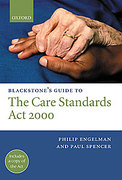 Cover of Blackstone's Guide to the Care Standards Act 2000