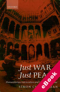 Cover of Just War or Just Peace?: Humanitarian Intervention and International Law (eBook)