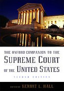 Cover of The Oxford Companion to the Supreme Court of the United States