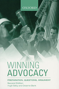 Cover of Winning Advocacy: Preparation, Questions, Argument