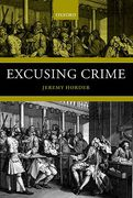 Cover of Excusing Crime