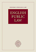 Cover of English Public Law
