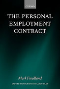 Cover of The Personal Employment Contract