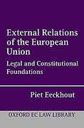 Cover of External Relations of the European Union: Legal and Constitutional Foundations