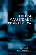 Cover of Capital Markets and Company Law