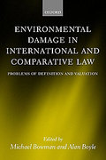 Cover of Environmental Damage in International and Comparative Law
