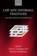 Cover of Law and Informal Practices: The Post-Communist Experience