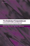 Cover of The Anatomy of Corporate Law