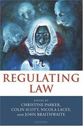 Cover of Regulating Law