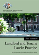 Cover of Blackstone's Bar Manual: Landlord and Tenant Law in Practice