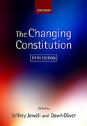 Cover of The Changing Constitution