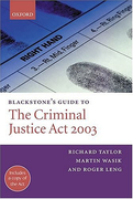 Cover of Blackstone's Guide to the Criminal Justice Act 2003