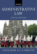 Cover of Administrative Law 9th ed