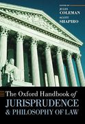 Cover of The Oxford Handbook of Jurisprudence and Philosophy of Law