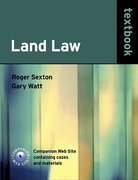 Cover of Land Law Textbook