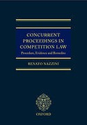 Cover of Concurrent Proceedings in Competition Law: Procedure, Evidence and Remedies