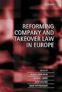 Cover of Reforming Company and Takeover Law in Europe