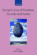 Cover of Europe's Area of Freedom, Security, and Justice