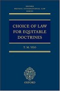 Cover of Choice of Law for Equitable Doctrines