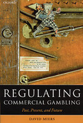 Cover of Regulating Commercial Gambling: Past, Present and Future