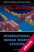Cover of International Human Rights Lexicon (eBook)