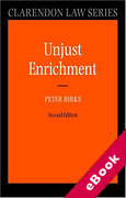 Cover of Unjust Enrichment (eBook)