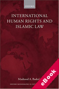 Cover of International Human Rights and Islamic Law (eBook)