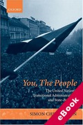 Cover of You, The People: The United Nations, Transitional Administration and State-Building (eBook)