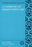 Cover of A Casebook on Roman Family Law