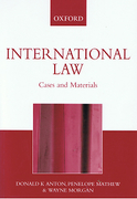 Cover of International Law: Cases and Materials