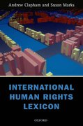 Cover of International Human Rights Lexicon