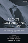 Cover of Rights, Culture and the Law: Themes from the Legal and Political Philosophy of Joseph Raz