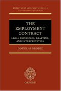 Cover of The Employment Contract: Legal Principles, Drafting and Interpretation