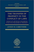 Cover of The Transfer of Property in the Conflict of Laws